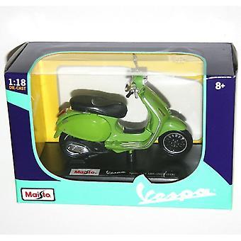 Maisto Scooter 1:18  Vespa Sprint 150 ABS Green