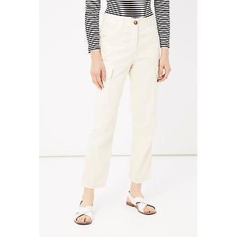 Please Bianco White Pants & Jean