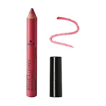 Lipstick pencil Camélia rose Certified organic None