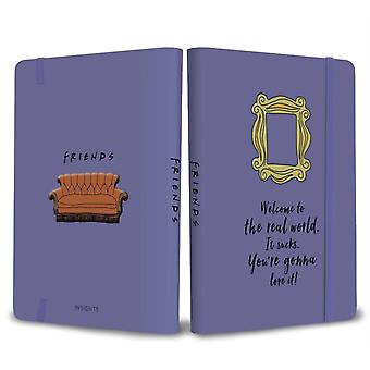 Friends Yellow Frame Softcover Notebook by Insight Editions