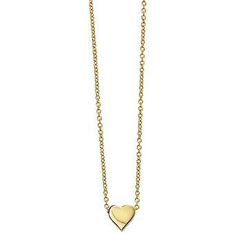 Collana cuore d'inizio - Oro