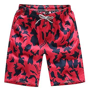 Summer Casual Printed Beach Shorts Beachwear Pants