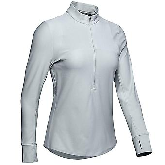 Under Armour Qualifier 1/2 Zip Top Gym Running Active Track Top 1326512 014