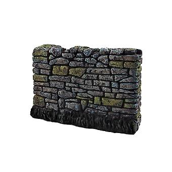 Dolls House Aged Rugged Garden Wall Dry Stone Drystack 1:12 Scale