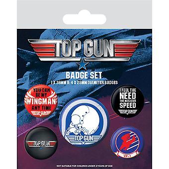 Top Gun Odznak Set (Balenie 5)