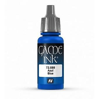 Vallejo Game Color 17ml Acrylic Paint 88 Blue Ink