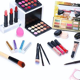 All In One Makeup Kit Professional Cosmetics Full Set Eyeshadow Lip Makeup