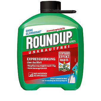 ROUNDUP® Express ferdigmiks, 5 liter