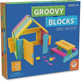 Mindware - groovy blocks - 120 pc set