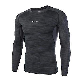 Dry Fit Kompression Fitness lange Ärmel Laufshirt