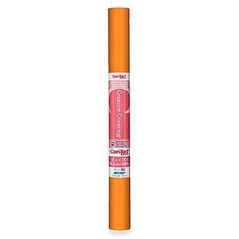 "Con-Tact Adhesive Roll, Orange, 18"" X 20 Ft."