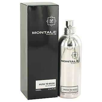 Montale musc de musc Eau De Parfum Spray (Unisex) par Montale 3.4 oz Eau De Parfum Spray