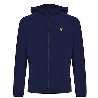 Lyle and Scott Sport Mens Hooded Jacket Full Zip Lightweight Top Outerwear