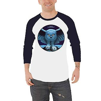 Rush T Shirt Fly By Night new Official Mens White Long Sleeve Baseball