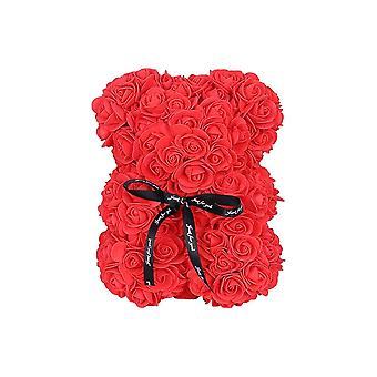 Foam Red Rose Teddy Bear