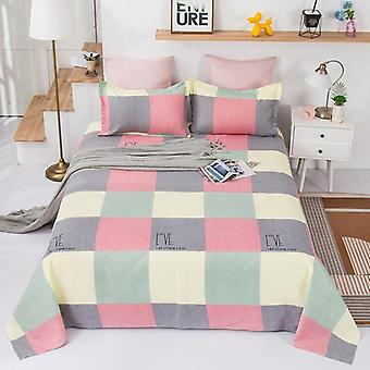 [bed Sheet + Pillow Case]thickened Plant Cashmere Sheets, Twill Plant Cashmere