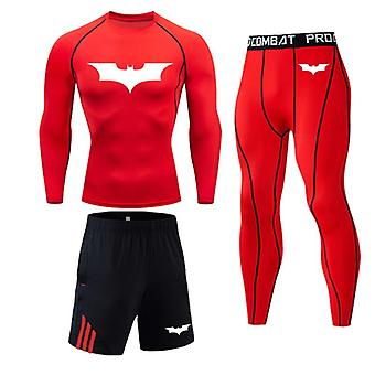Men's Running Sports Suit, Mma Rashgard, Male, Quick Drying Sportswear