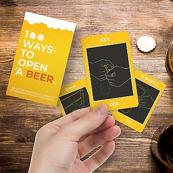 100 Ways to open a beer