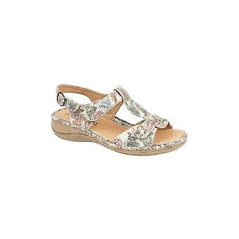 Boulevard Petunia Ladies Slingback Sandals Multi Floral