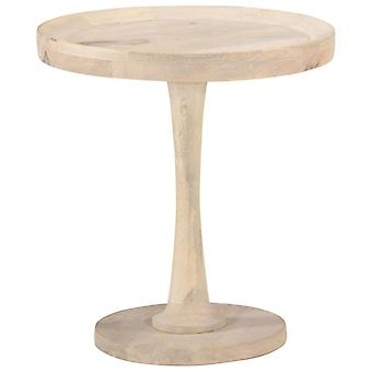 vidaXL sivupöytä Ø50x55 cm Mango massiivipuu