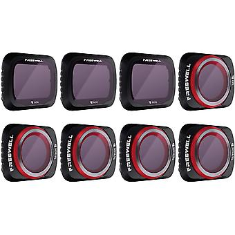 FengChun Ganzer Tag - 4K Serie - 8Pack Filter Kompatibel mit Mavic Air 2 Drone (nicht Kompatibel mit