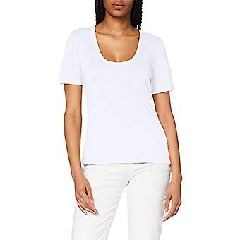 Marc O'Polo 6215551305 T-Shirt, Blanc (Blanc 100), Petite Femme