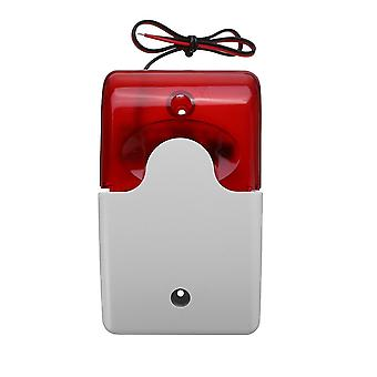 Nowy trwały 12v przewodowy alarm dźwiękowy stroboskop migający alarm alarm domu bezpieczeństwa bezpieczeństwa