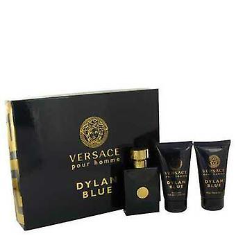 Versace Pour Homme Dylan Blue by Versace lahja setti--1,7 oz Eau de Toilette Spray + 1,7 oz jälkeen SH V728-538096