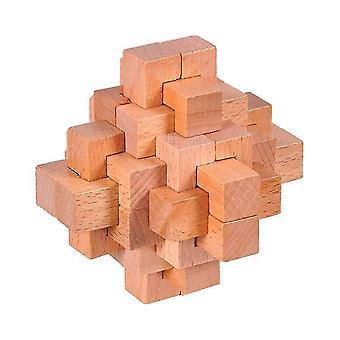 Holz ineinandergreifende Grat Puzzles Spiel Spielzeug dt8737