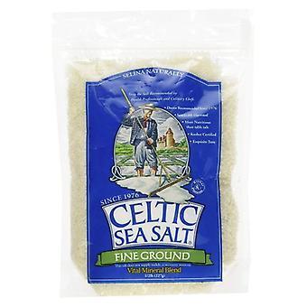 Kelttien merisuola hieno jauhettu merisuola, 8 oz