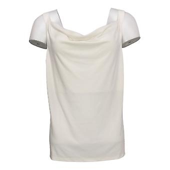 Colleen Lopez Dames Top Cowl Neck Cami Wit 712200