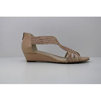 Charter Club Womens Ginifur Wedge Sandals