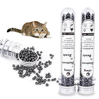 Lemmikkikissan pentue hajunpoistojauhe poista bambuhiili aktiivihiililaatikko lemmikkieläinten haju neutralointikissa