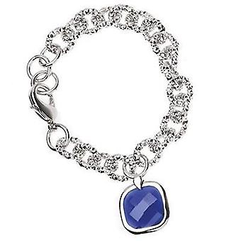Ottaviani jewels bracelet with blue stone pendant 470612