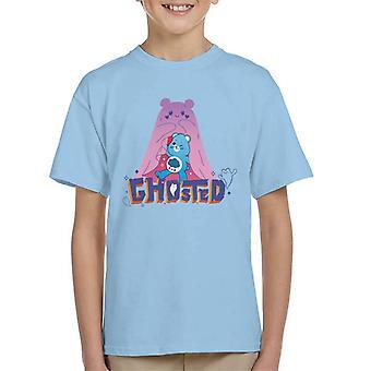 Pflege Bären UTM Halloween Grumpy Bear Ghosted Kinder T-Shirt