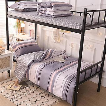 Homemiyn Dormitory Single Bed Three-piece Cotton Bedding Set Start Of School Gifts For Student