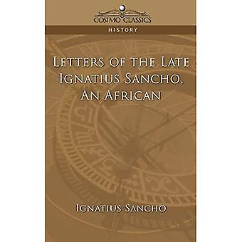 An Letters of the Late Ignatius Sancho
