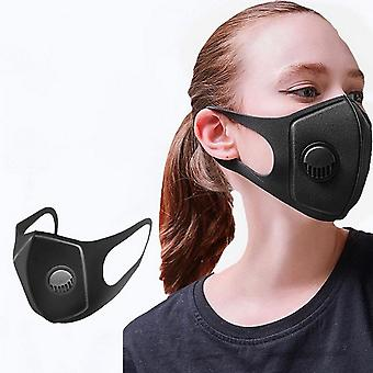 10/20/30/50pcs Breathable Dust-proof Protective Mask, Anti-pollution Mask, Adult Mask, Washable And Reusable Black