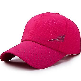 جديد قبعة البيسبول التجفيف السريع القبعات