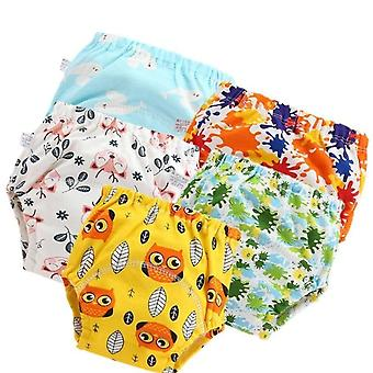 Baby Cotton Pants Panties Underwear Baby Diapers Cloth Diaper Nappies Washable