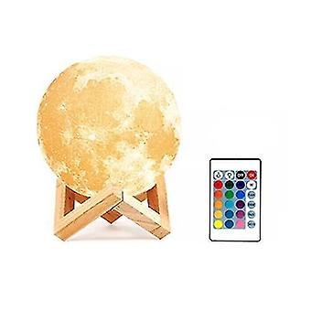 Akumulator 3d Print Moon Lamp Led
