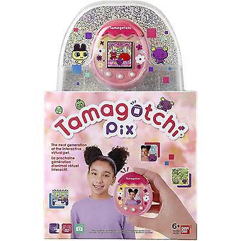 TAMAGOTCHI Pix Virtuelles Haustier - Pink