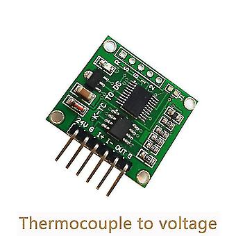 Motherboards thermocouple to voltage transmitter module 0-5v 0-10v k type linear temperature conversion board two