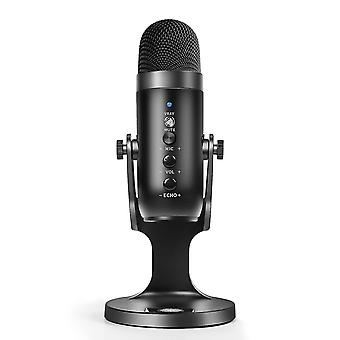 Microphones multifunctional usb condenser microphone for computers  gaming  streaming and podcasting featuring