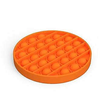 Push pops bolla sensoriale squishy autismo anti stress toy (Arancione 2)