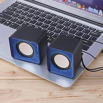 Portable Usb 2.0 Multimedia Desktop Computer Notebook Mini Speaker 3.5mm Jack