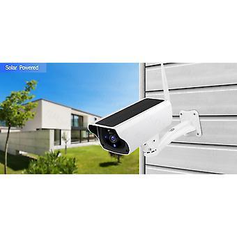 1080p Wireless Wifi Solar Outdoor Surveillance Camera, cu panou solar și baterie reîncărcabilă, fără baterie