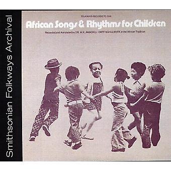 Chansons & rythmes africains pour enfants-enregistré & un - rythmes africains & chansons pour enfants-enregistré & une importation USA [CD]