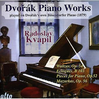 A. Dvorak - K: Dvor Piano obras jugó en Dvor K propio B Sendorfer Piano, importación USA Vol. 2 [CD]