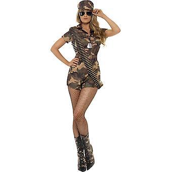性感的军队女孩士兵服装